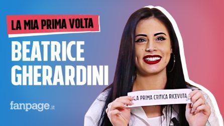 La prima volta di Beatrice Gherardini