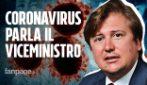 """Coronavirus, il viceministro Sileri: """"L'italiano contagiato sulla nave giapponese? Sta bene"""""""