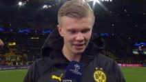 """Haaland da paura, altri 2 gol in Champions: """"Ma devo migliorare ancora"""""""