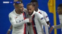 Champions: Borussia Dortmund-Psg, il gol dell'1-1 di Neymar