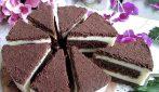 Torta magica cioccolato e crema: la ricetta del dessert super goloso