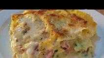 Lasagne zucchine e speck: un primo piatto da leccarsi i baffi