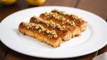 Rolinhos de baklava: crocantes, saborosos e fáceis de fazer!