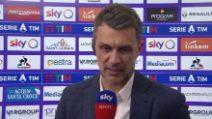 """Milan, Maldini: """"Rigore? Sono confuso. Perché niente Var?"""""""
