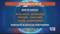 Coronavirus non si gioca, rinviate anche le partite in Serie A