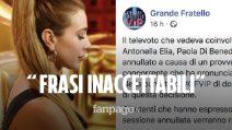 """Gf Vip 2020, televoto annullato e sponsor contro Clizia Incorvaia: """"Rispetto alle vittime di mafia!"""""""