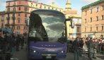 Napoli in delirio per Messi: accolto con cori e applausi