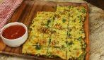 Pizza di broccoli: senza lievito, senza farina e davvero saporita!