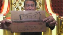Grande Fratello Vip 2020, Patrick Ray Pugliese riceve un disegno dal figlio Leone