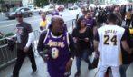 A Los Angeles in 20mila per l'ultimo saluto a Kobe Bryant
