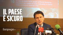 """Giuseppe Conte: """"Italia è paese sicuro, si può viaggiare e fare turismo"""""""