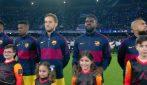 Champions: Napoli-Barcellona, l'urlo del San Paolo è da brividi