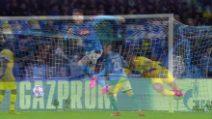 Champions, i gol di Napoli-Barcellona: Griezmann risponde a Mertens