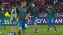 Champions, Bonucci: rimprovero a Matuidi prima di Lione-Juve