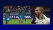 """Juventus, Bonucci: """"Rimprovero a Matuidi? Tutti siano concentrati"""""""