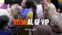 """GF Vip, rissa tra Antonella Elia e Valeria Marini: """"Hai rotto"""", """"Mi hai messo le mani addosso"""""""