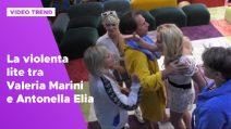 Grande Fratello Vip 2020, la rissa tra Valeria Marini e Antonella Elia