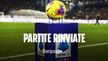 Serie A ufficiale: rinviate le partite a porte chiuse, Juventus - Inter e altre quattro gare