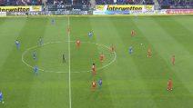 Hoffenheim-Bayern sospesa: i giocatori avversari si passano la palla negli ultimi 10 minuti