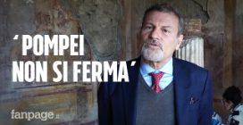 """Coronavirus, a Pompei si continua a lavorare. Il direttore Osanna: """"Seguiamo le norme di sicurezza"""""""