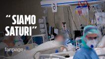 """Coronavirus, nella rianimazione della Poliambulanza di Brescia: """"Stiamo raggiungendo la saturazione"""""""