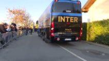 Inter, tifosi ad Appiano alla vigilia del derby d'Italia