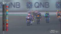 Motogp in Qatar, Moto2: gli highlights della gara