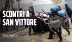Coronavirus, cariche della polizia contro gli anarchici fuori dal carcere di San Vittore in rivolta