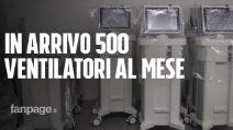 """Coronavirus, nell'unica fabbrica di ventilatori polmonari italiana: """"Dobbiamo salvare la nazione"""""""