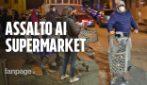 Coronavirus, supermercati presi d'assalto dopo il messaggio di Conte, intervengono i carabinieri
