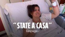 """Giorgia, malata di tumore ai tempi del Coronavirus: """"Restate a casa, fatelo per me e per voi"""""""