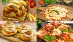 10 amazing recipes to make homemade pizza in a few steps!