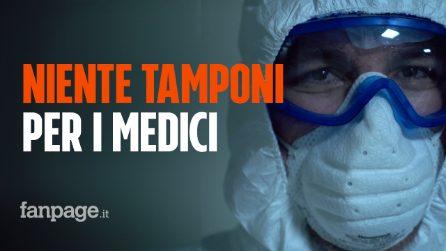 """Remuzzi (IRCCS): """"Se facciamo tamponi a tutti i medici l'80% va in quarantena, chi cura i malati?"""""""