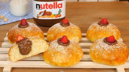 Bomboloni al forno con Nutella®