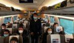 Coronavirus, a Wuhan arrivano i primi treni dopo due mesi