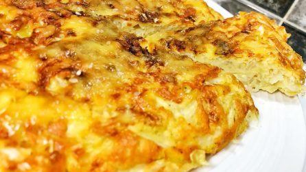 Cabbage omelette: the recipe to try absolutely