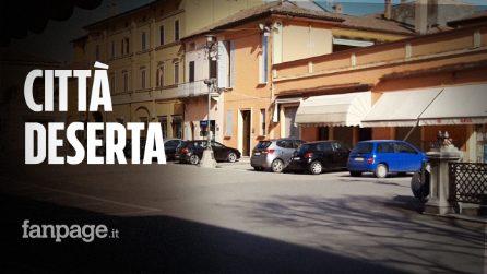 """Coronavirus in Emilia Romagna, dentro Medicina, paese blindato: """"Una città fantasma come Codogno"""""""