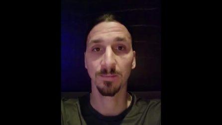 "Coronavirus, Ibrahimovic e la campagna solidale: ""Se il virus non va da Zlatan, Zlatan va da virus"""