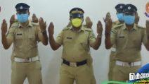Il ballo dei poliziotti per lavarsi le mani diventa virale
