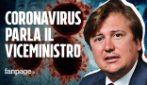 """Coronavirus, il viceministro Sileri: """"Sto guarendo, da malattia ho capito che servono più tamponi"""""""