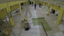 Coronavirus, il nuovo reparto dell'ospedale San Raffaele di Milano