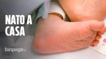 """Pronto Soccorso chiuso per Coronavirus, Lorenzo nasce a casa grazie al papà: """"Un miracolo"""""""