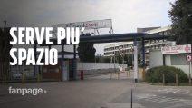 """Napoli, ospedali in crisi a causa del Coronavirus. La proposta: """"Mettiamo i malati nell'ex area Nato"""""""
