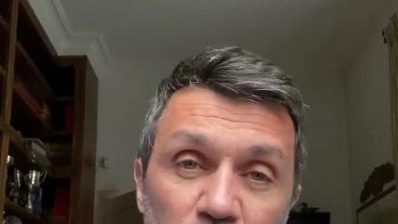 """Coronavirus, Paolo Maldini: """"Noi stiamo bene, grazie a tutti"""""""