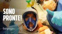 Coronavirus, pronte le maschere da sub trasformate in respiratori per combattere il COVID-19