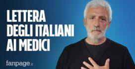 La lettera degli italiani a tutti i medici in prima linea