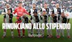 Coronavirus, i calciatori della Juventus rinunciano a 4 mesi di stipendio per l'emergenza COVID-19