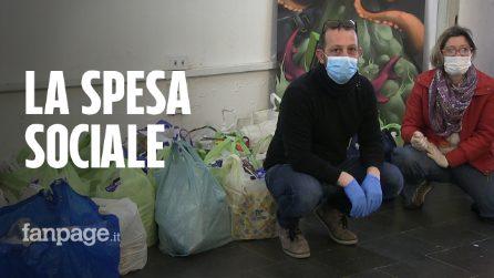"""Coronavirus Napoli, i volontari della spesa sociale: """"Noi in campo prima del governo, Conte estenda il reddito"""""""
