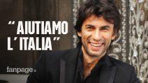 """Kledi Kadiu: """"Restituiamo all'Italia quello che ci ha dato. Chi non ha nulla è quello che ti aiuta"""""""