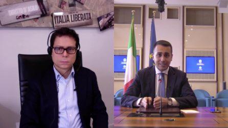 """Luigi Di Maio: """"Senza reddito cittadinanza ci sarebbe stato il doppio di persone in difficoltà"""""""